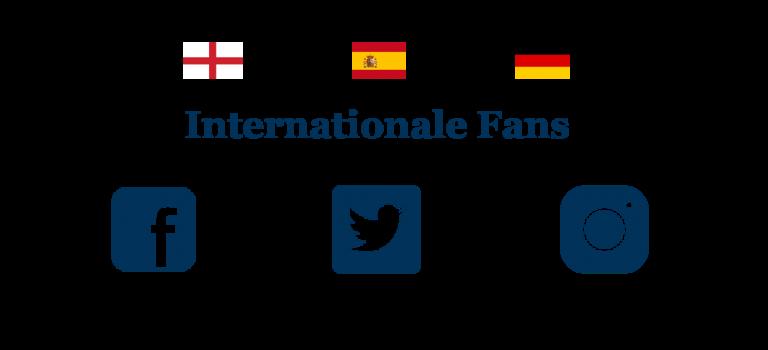 Spannender Vergleich: Internationale Fußball-Fans in sozialen Medien