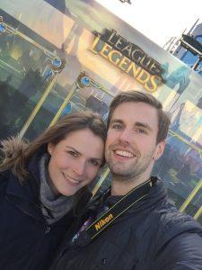 eSports-Turnier: Vor der Arena