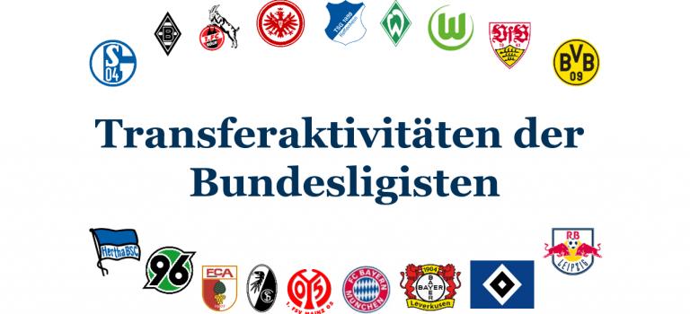Was uns die Transferaktivitäten der Clubs zur Bundesliga 2017/18 verraten