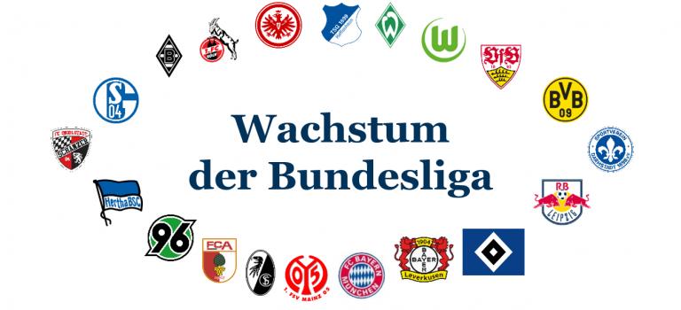 So relevant ist Dein Lieblingsclub für das Wachstum der Bundesliga