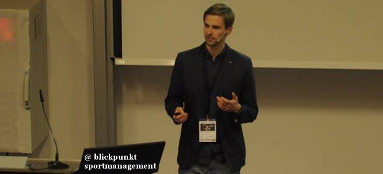 Blickpunkt Sportmanagement 2017: Wie Startups Sportorganisationen helfen