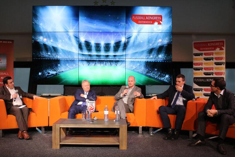 Einblick in die Atmosphäre beim FUSSBALL KONGRESS Österreich
