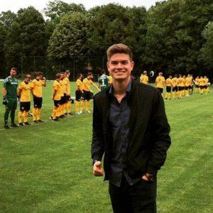 Pat ist Spielerberater: Hier zu Gast bei Dynamo Dresden