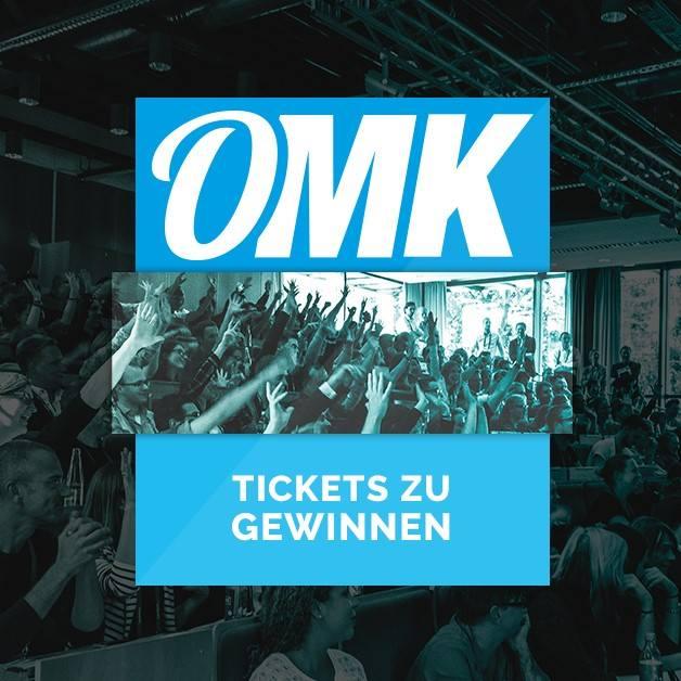 Sport trifft Online-Marketing bei der OMK 2018 - Klicke auf das Bild und gewinne eines von 2 Tickets im Wert von 299 Euro!