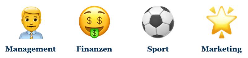 Benötigte Kompetenzen in Aufsichtsrat im Vorstand für gute Unternehmensführung im Fußball
