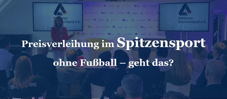 Preisverleihung im Spitzensport ohne Fußball – geht das?