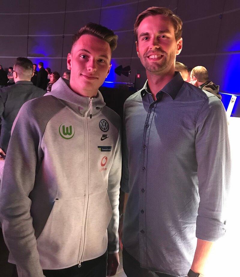 Bei den Gaming Days habe ich TimoX vom VfL Wolfsburg getroffen