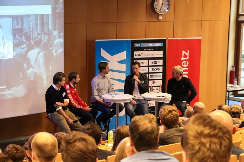 Die Diskussion zu Sportmarketing bei der OMK 2018 in Action