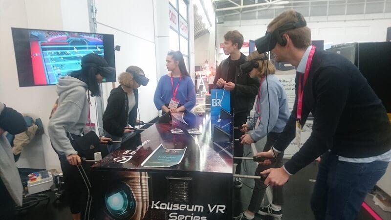 Medientage 2018: Meine ersten Kicker-Erfahrungen in der virtuellen Realität