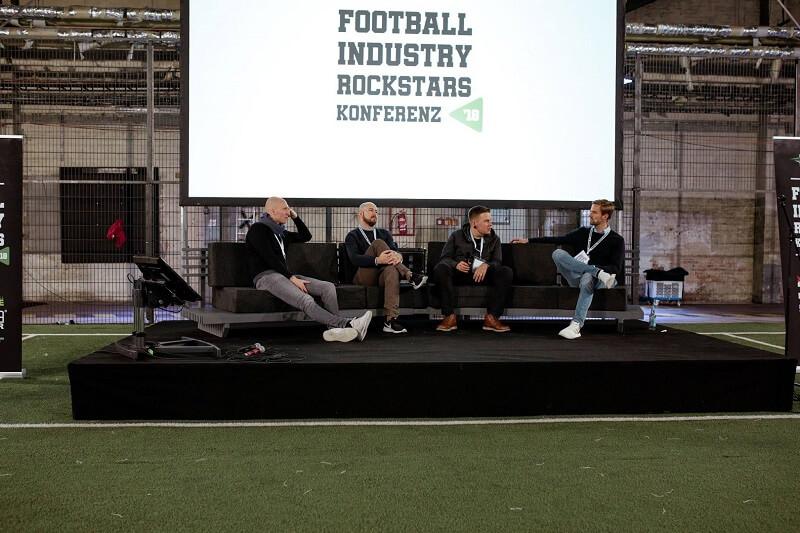 Panel zu Digitaler Weiterentwicklung bei den Football Industry Rockstars