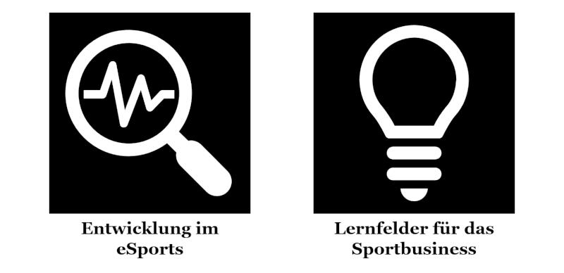 Abschnitte meiner Keynote zu Entwicklung im eSports