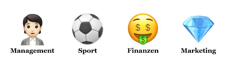 Kompetenzen zur Analyse des Management der Bundesligisten