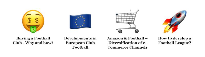 Meine Themen bei der FUTURE OF FOOTBALL BUSINESS Conference 2020